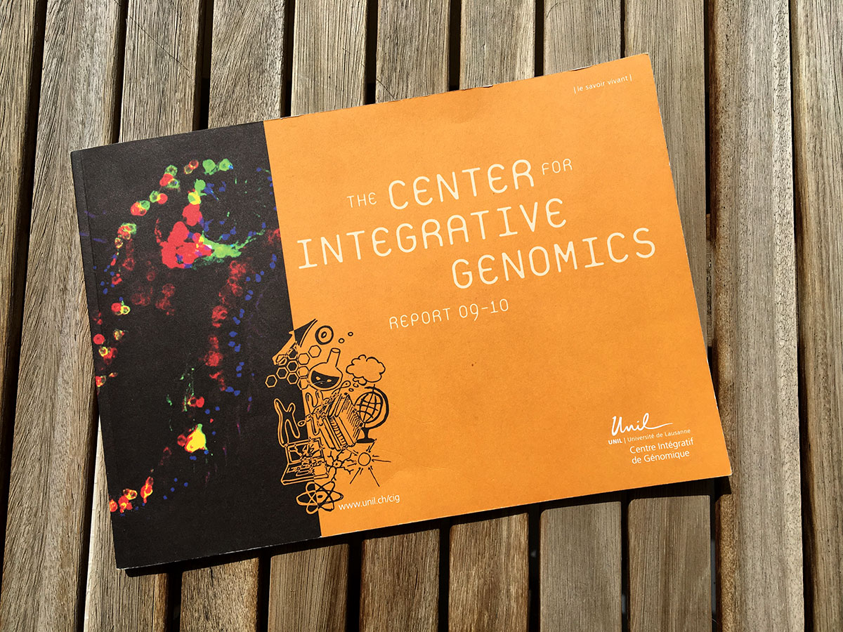 Rapport biennal CIG (center for integrative genomics)