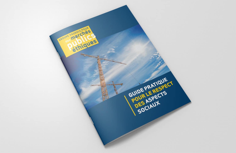 Brochure Groupe vaudois des marchés publiques couverture