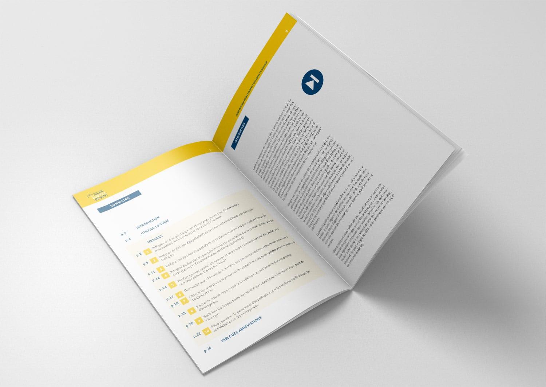 Brochure Groupe vaudois des marchés publiques double trois