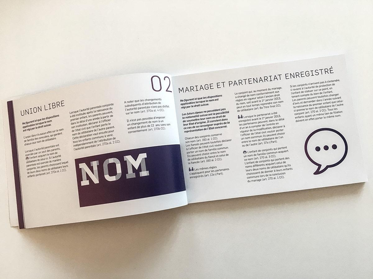 Brochure guide juridique mariage versus union libre vue 3