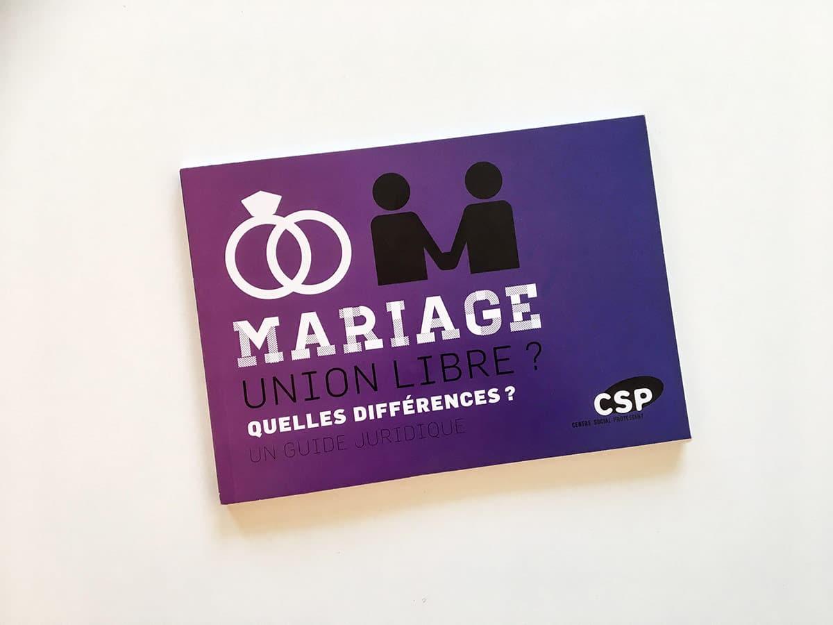 Brochure guide juridique mariage versus union libre vue 5
