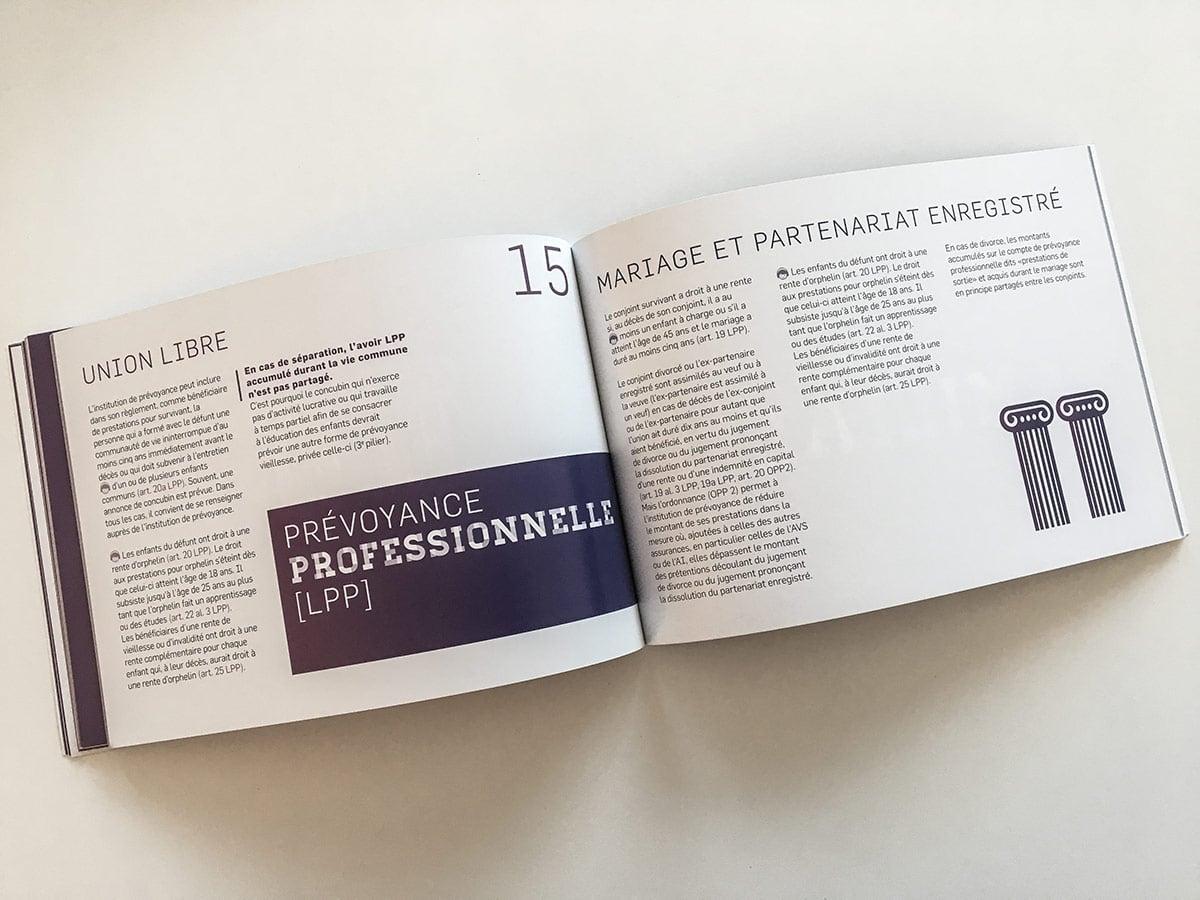 Brochure guide juridique mariage versus union libre