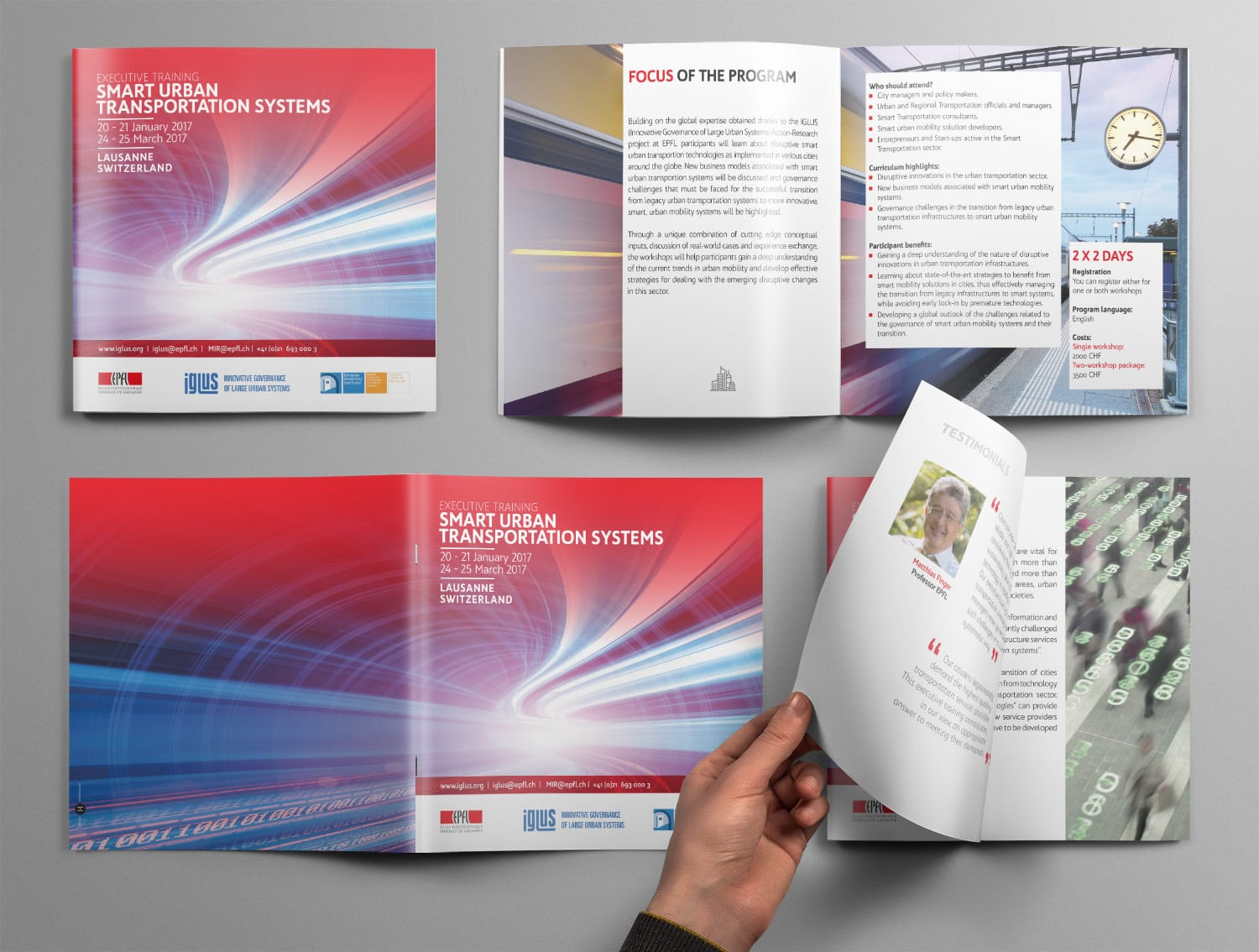 Brochure IGLUS Smart Urban Transportation Systems