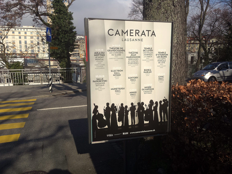 Camerata Lausanne / Affiche saison 2016