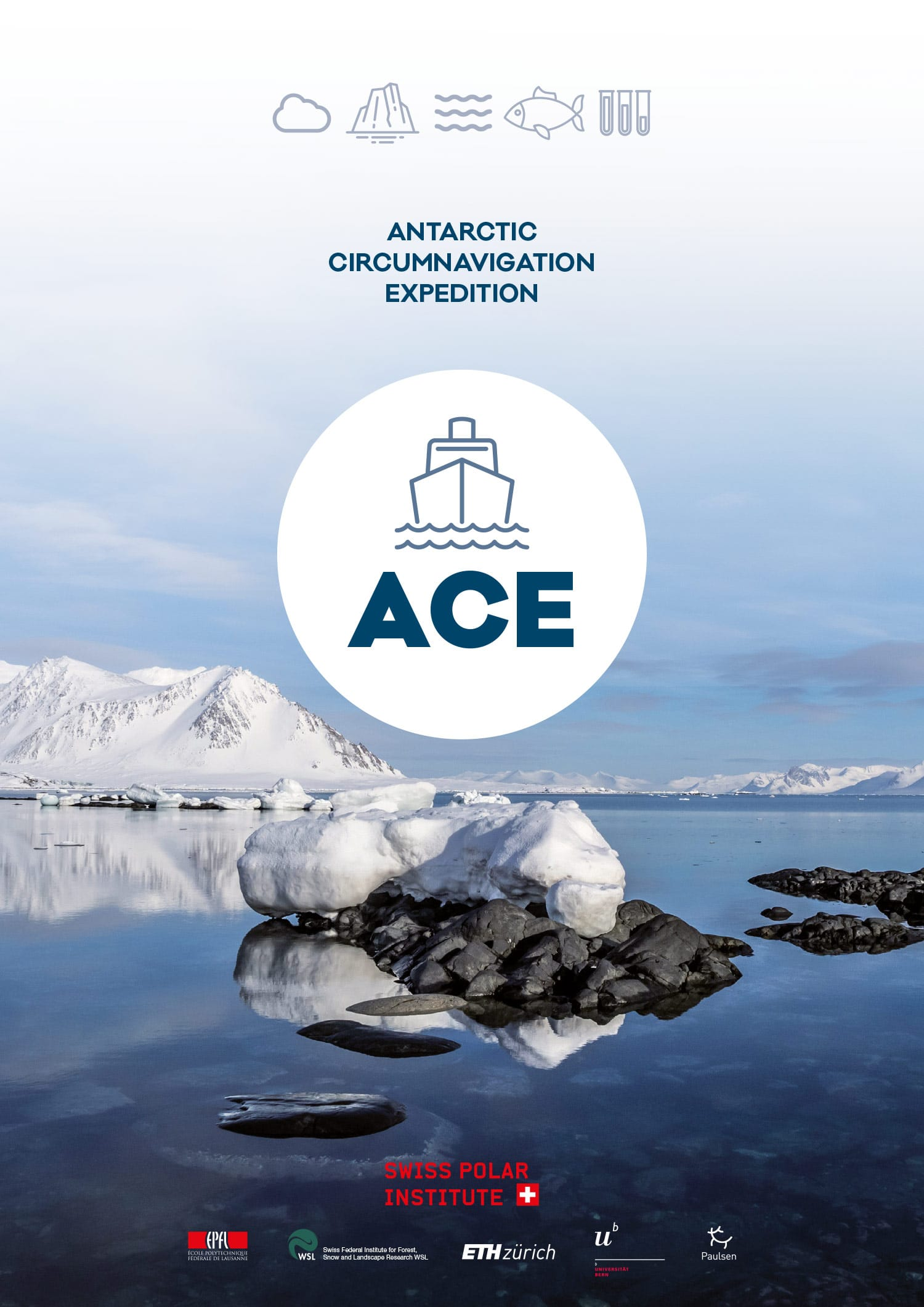 Dossier de presse Antarctic Circumnavigation Expedition (EPFL) Cover