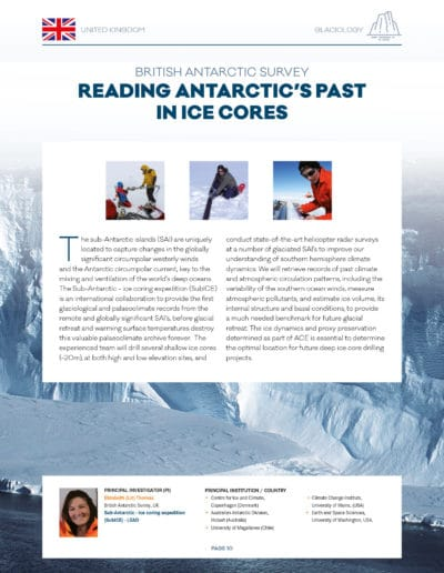 Dossier de presse Antarctic Circumnavigation Expedition (EPFL) @ Haymoz design, graphiste Lausanne
