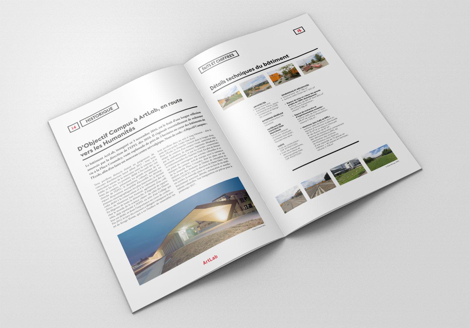 Dossier de Presse Bâtiment Artlab EPFL Historique