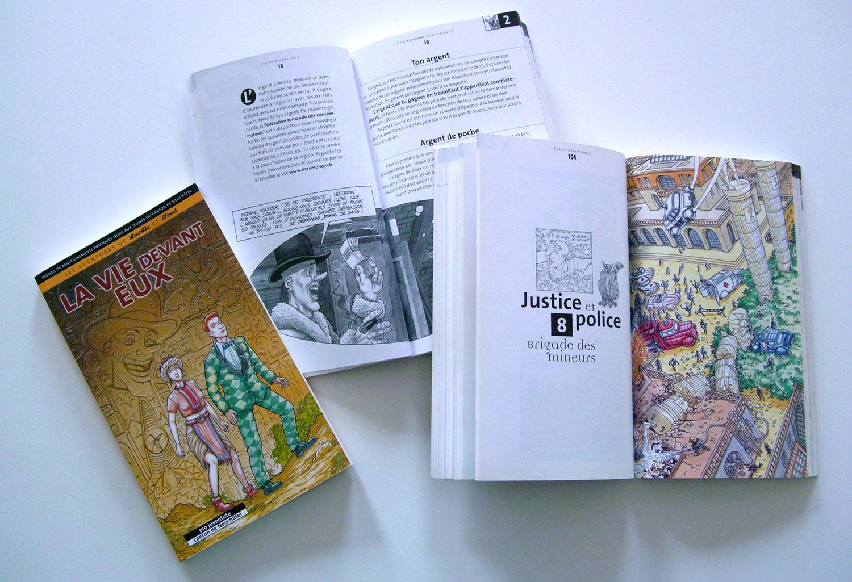La Vie devant Eux recueil d'informations à l'usage des adolescents / CSP - pro juventute