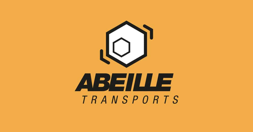 Logo Abeille Transports - déménagements - Haymoz design