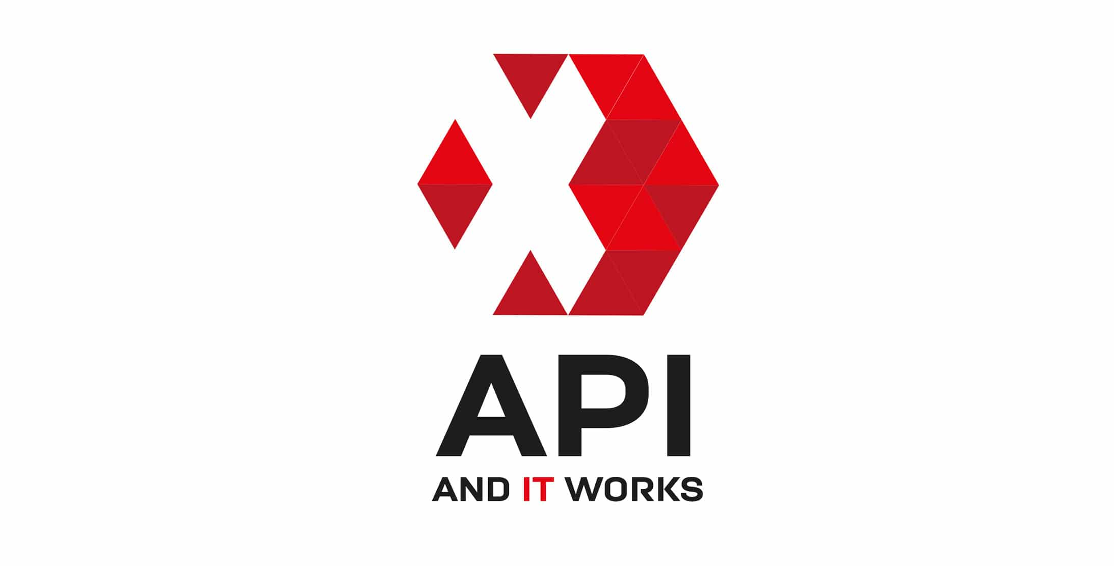 Logo API IT solutions & services - Haymoz design