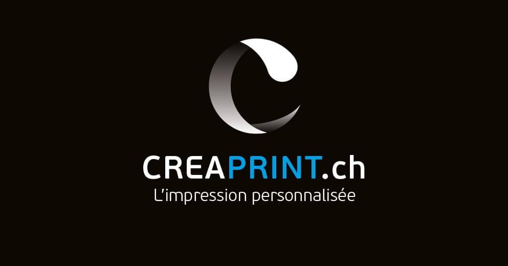 Logo Creaprint - Haymoz design