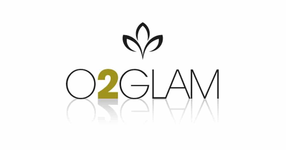 Logo O2glam - Couponing - Haymoz design