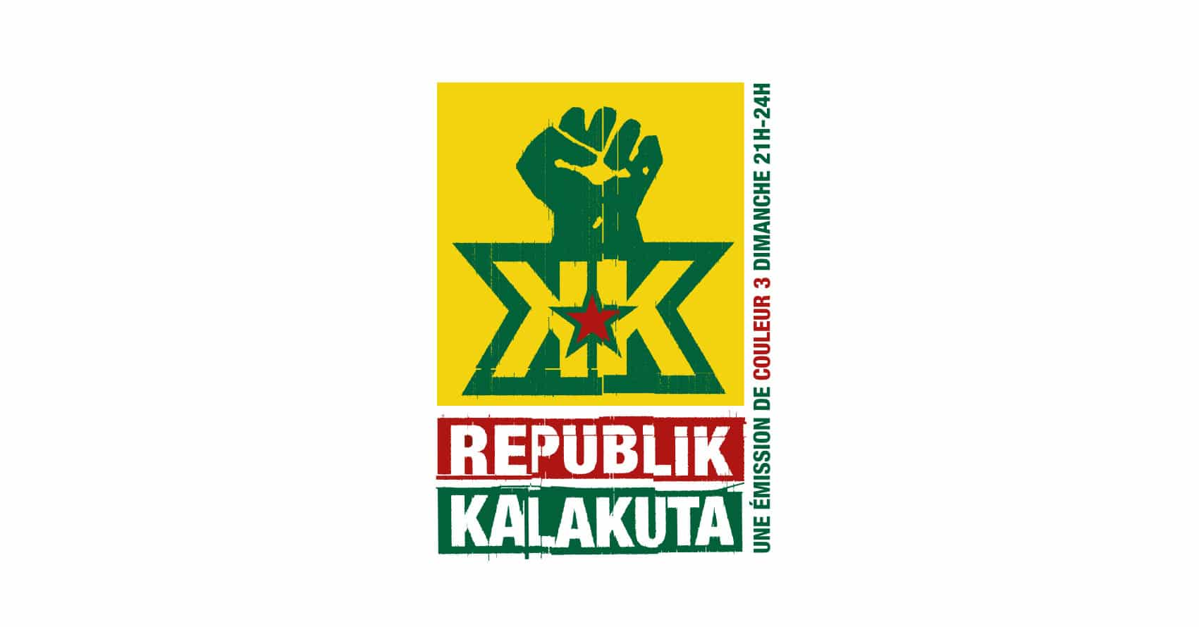 Couleur 3 - Republik Kalakuta - Emission musicale - Logo - Haymoz design