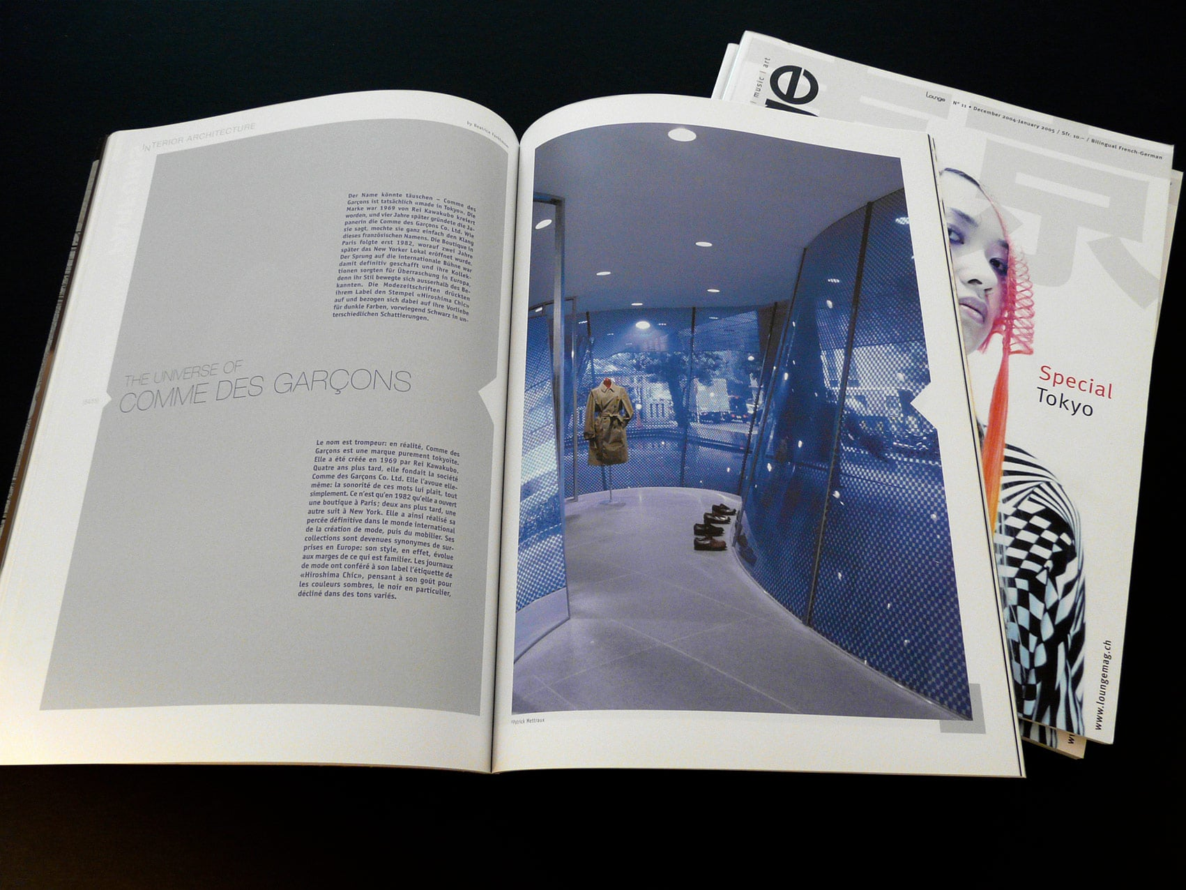 Lounge Magazine  - Création de ce numéro