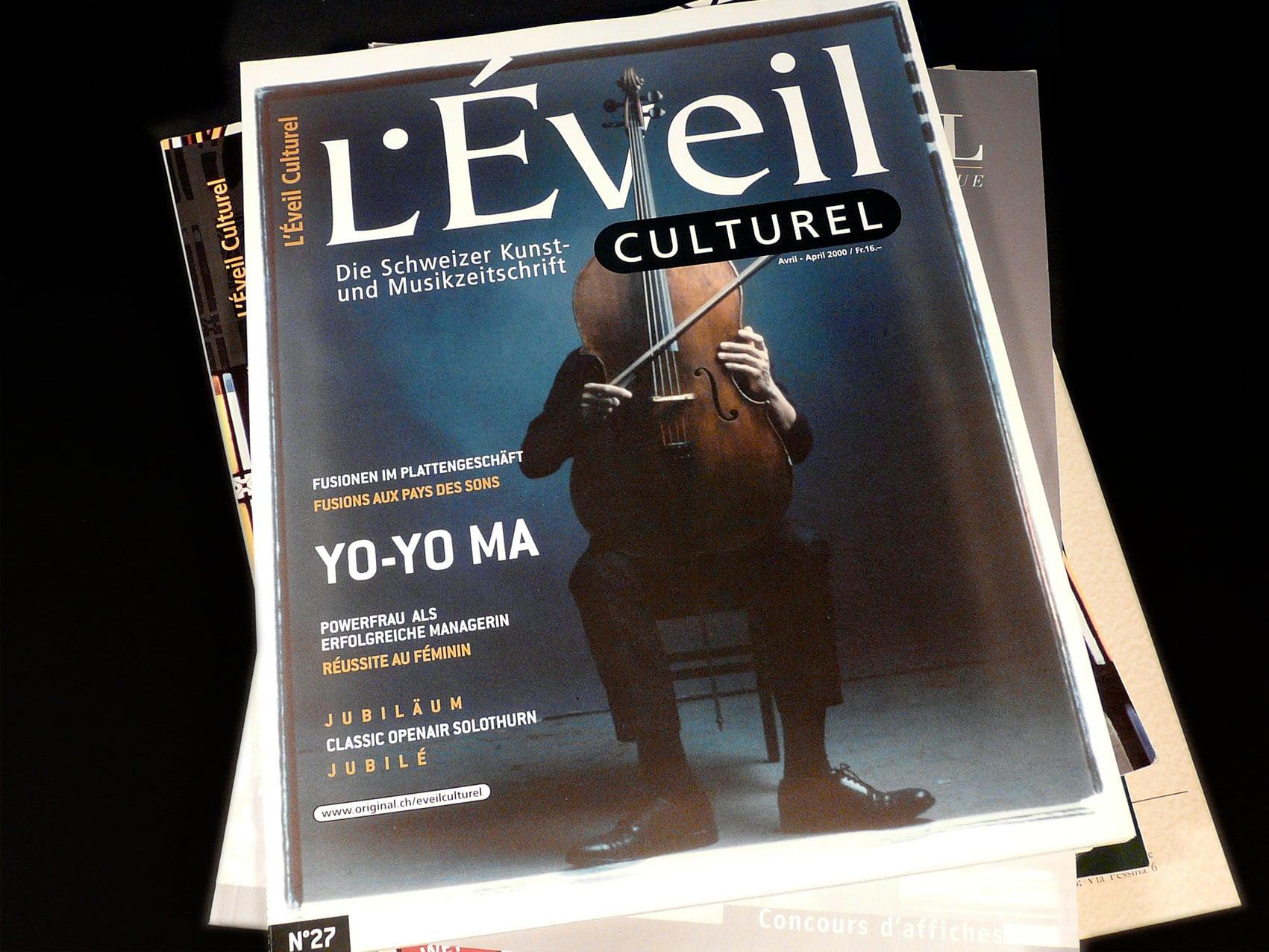 Magazine L'Éveil Culturel - Direction artistique et mise en page vue 4