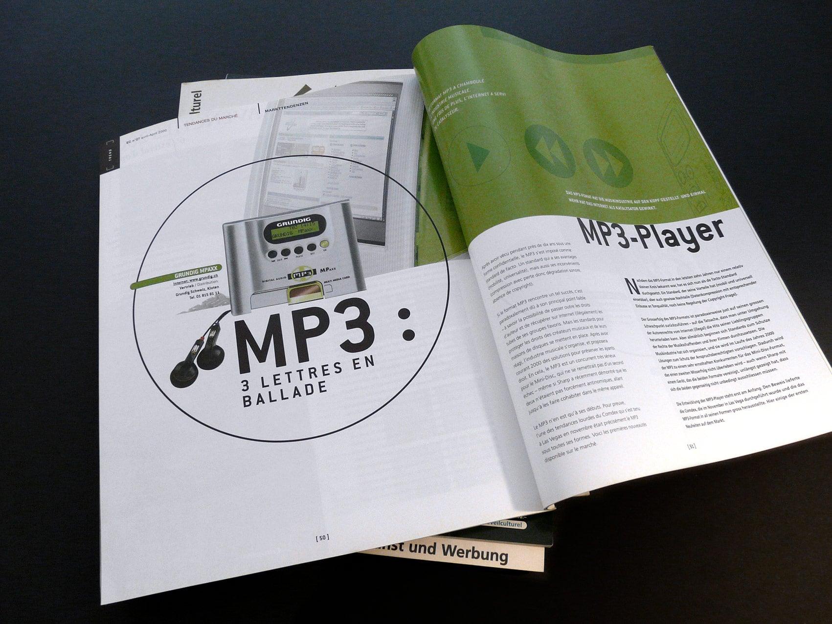 Magazine L'Éveil Culturel - Direction artistique et mise en page vue 5