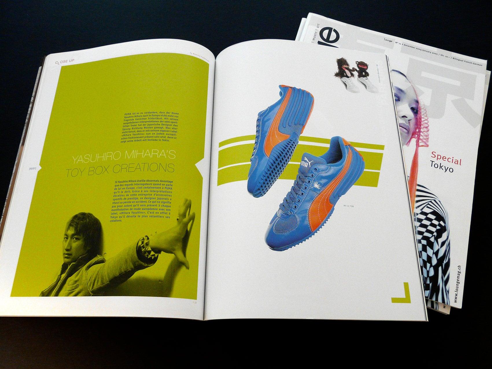 Magazine Lounge - Création et réalisation de ce numéro spécial Japon