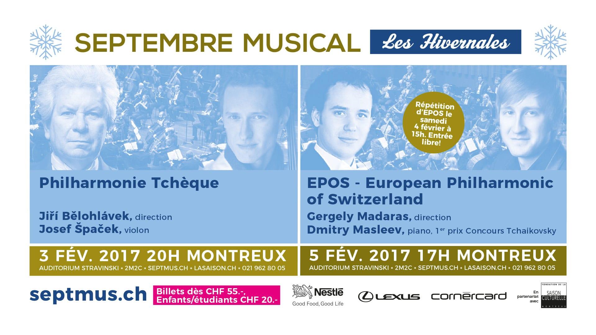 Septembre Musical - Les Hivernales - dia cinéma - Haymoz design