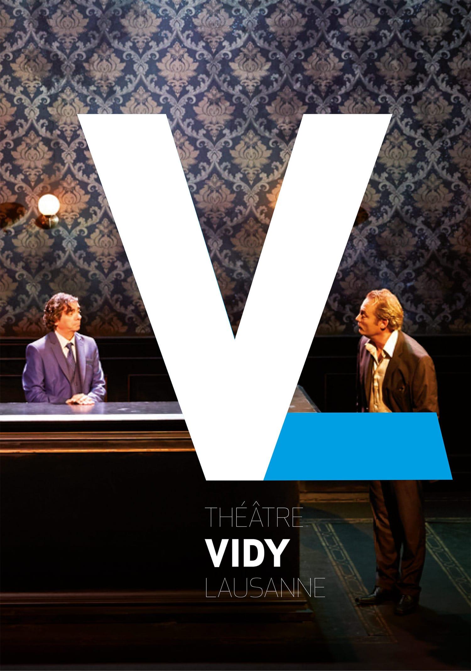 Théâtre de Vidy Concours nouvelle identité graphique 2e place - Affiche - Haymoz design