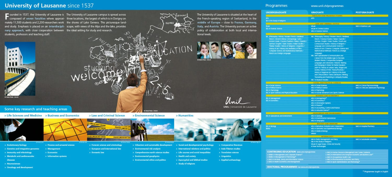 Unil - mappe des relations internationales