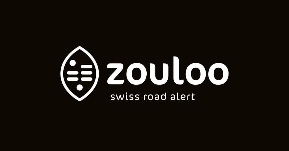Zoulou Swiss road alert service suisse d'alertes routières - Haymoz design