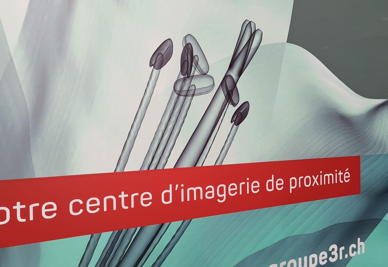 Groupe 3R - Vitrine CIP Lausanne avec ftc communication