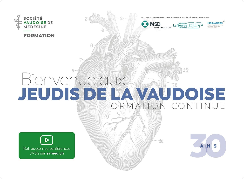 Société Vaudoise de Médecine - Signalétique Jeudis de la Vaudoise - Formation