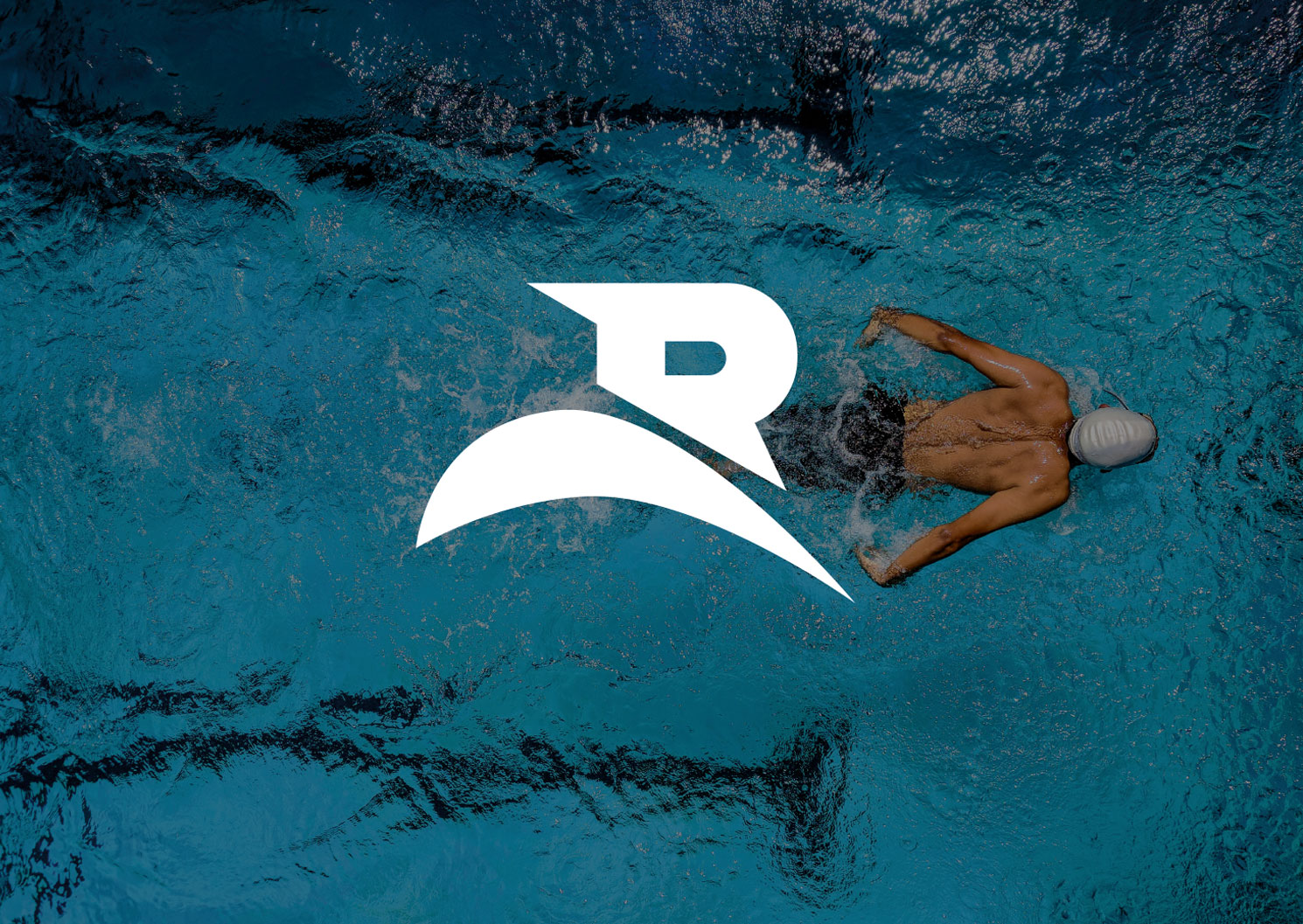 Logo du club Renens Natation - Haymoz design