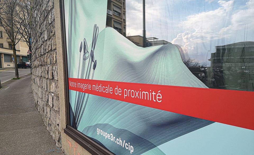 Groupe 3R - Vitrine CIP Lausanne avec ftc communication - Haymoz design