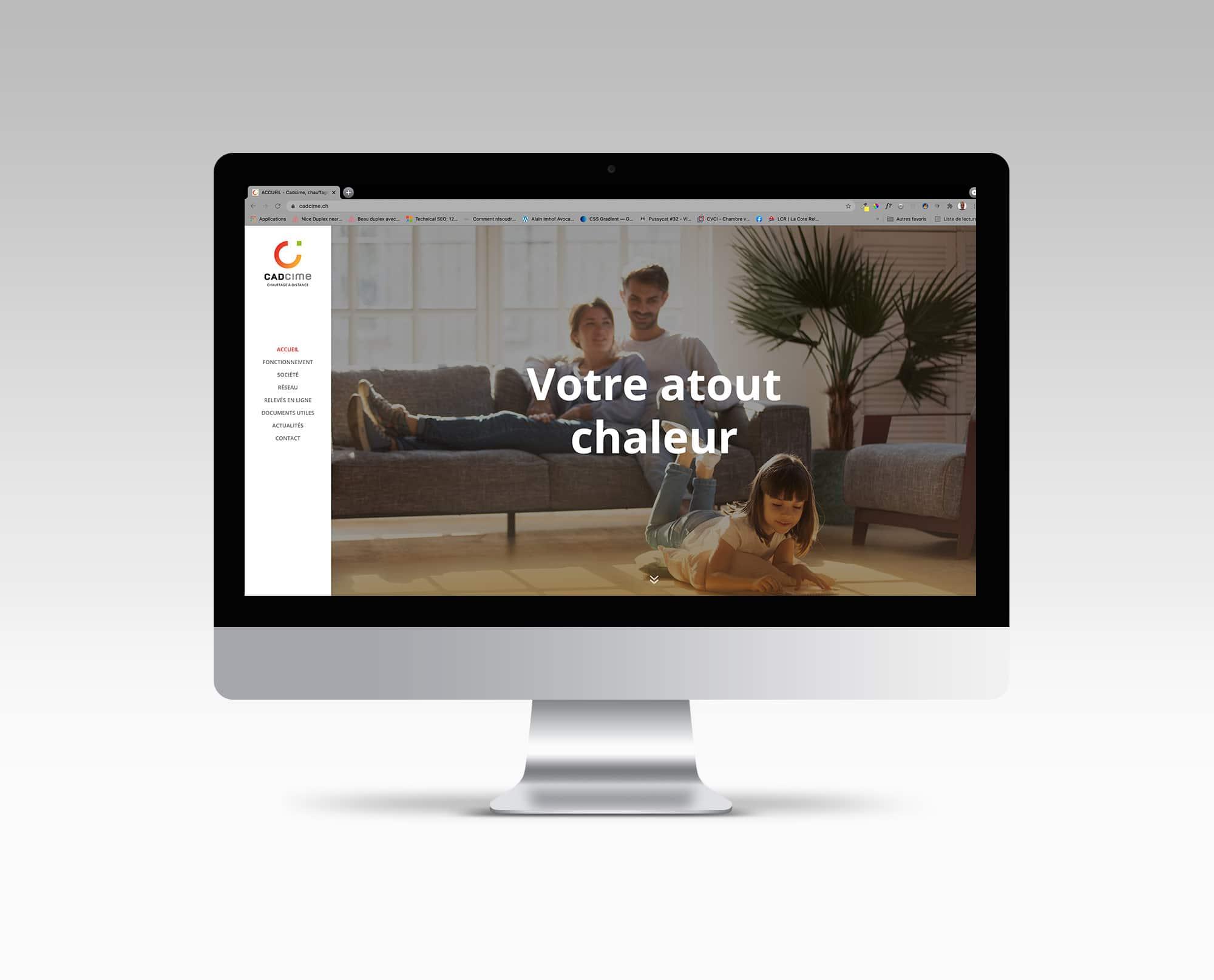 Conception du Site de Valentina Andrei vigneronne-caviste à Saillon © Haymoz design, graphiste Lausanne