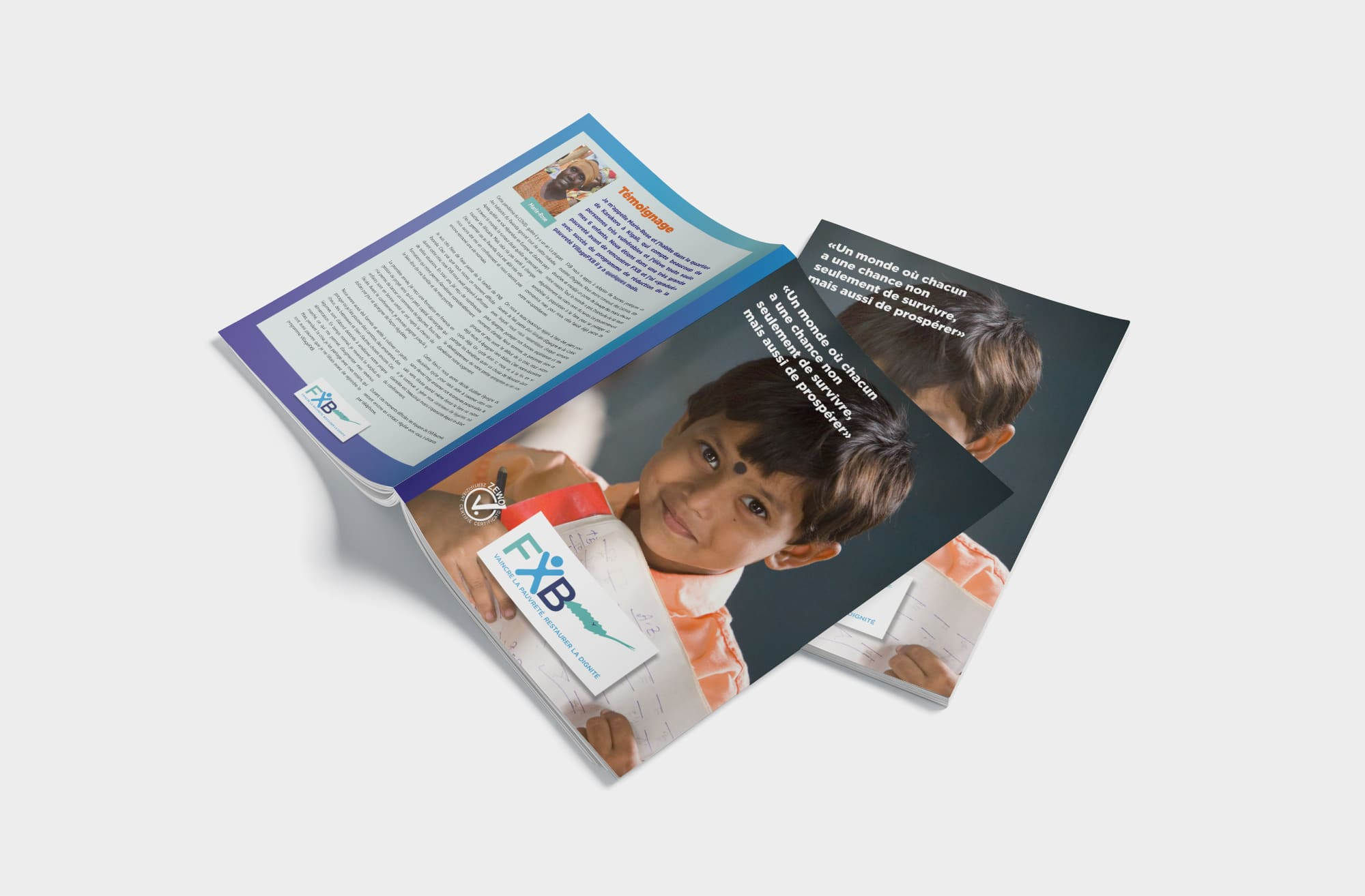 Association François-Xavier Bagnoud - Brochure de présentation 2021
