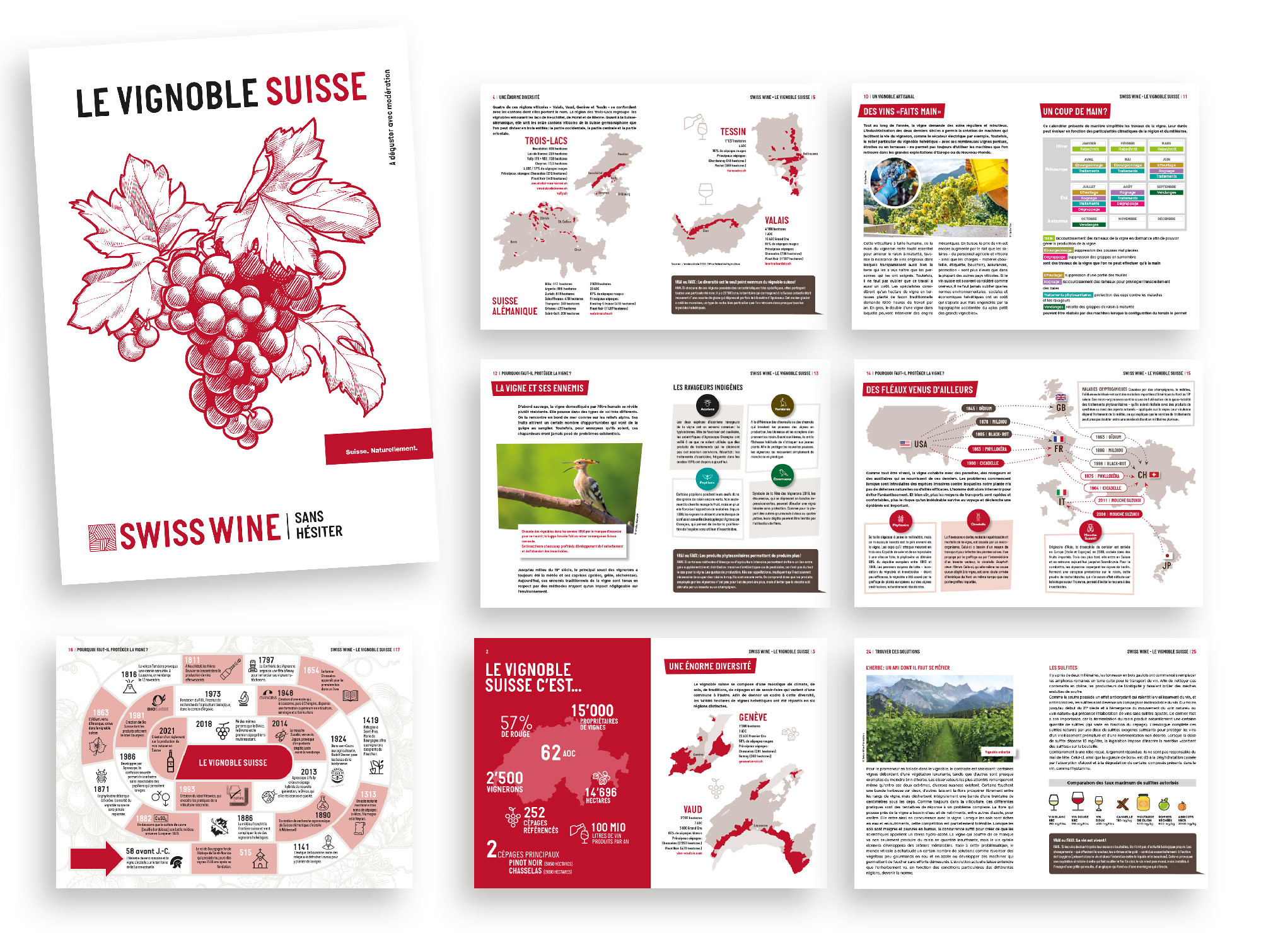 Le vignoble suisse - SWISSWINE